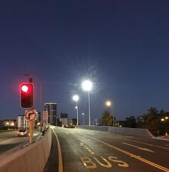 Charles Street bus bridge open